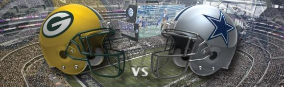 Dallas Cowboys vs. Green Bay Packers at AT&T Stadium