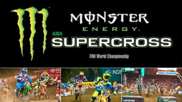 AMA Monster Energy Supercross at AT&T Stadium