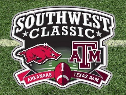 Texas A&M Aggies vs. Arkansas Razorbacks at AT&T Stadium