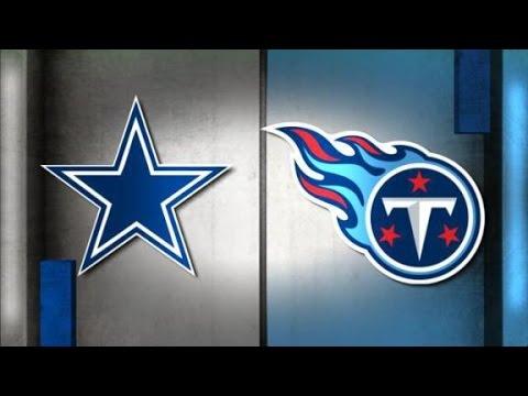 Dallas Cowboys vs. Tennessee Titans at AT&T Stadium