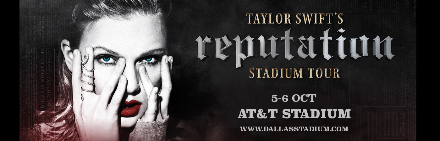 Taylor Swift at AT&T Stadium