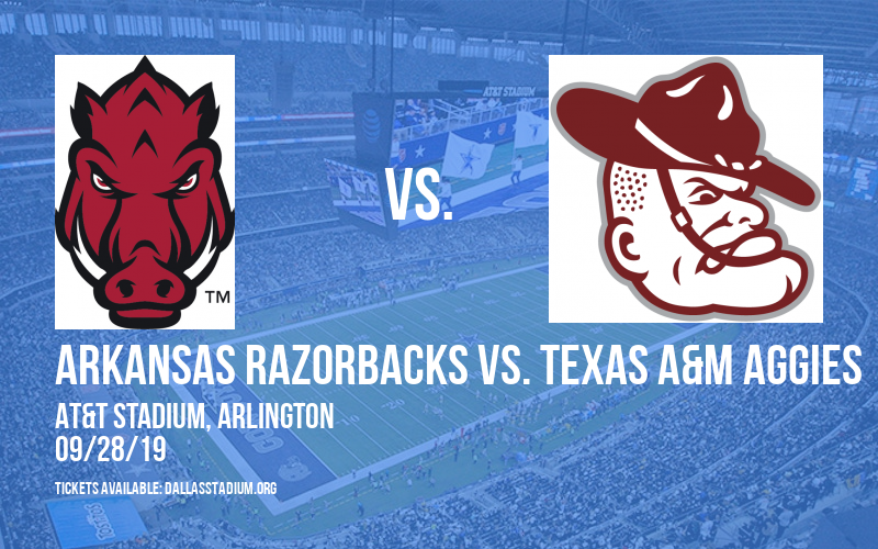 Arkansas Razorbacks vs. Texas A&M Aggies at AT&T Stadium