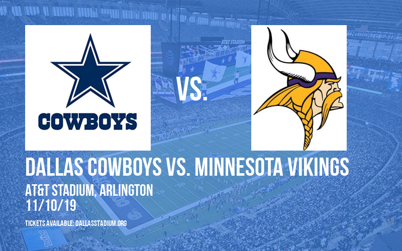 Dallas Cowboys vs. Minnesota Vikings at AT&T Stadium