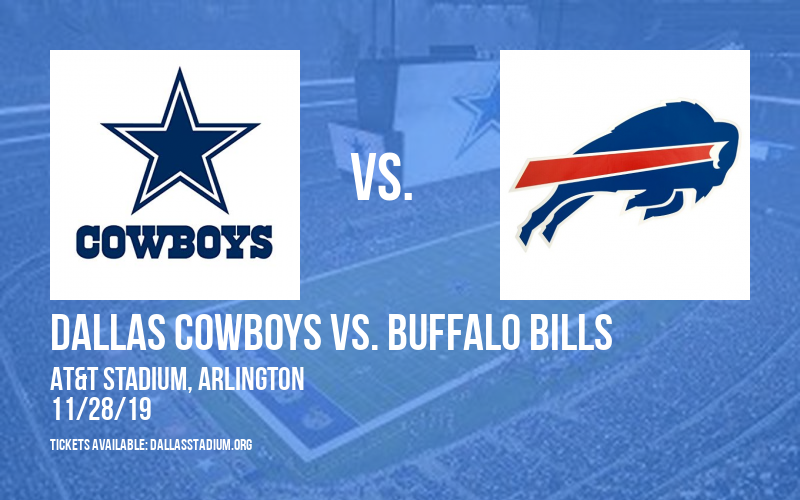 Dallas Cowboys vs. Buffalo Bills at AT&T Stadium