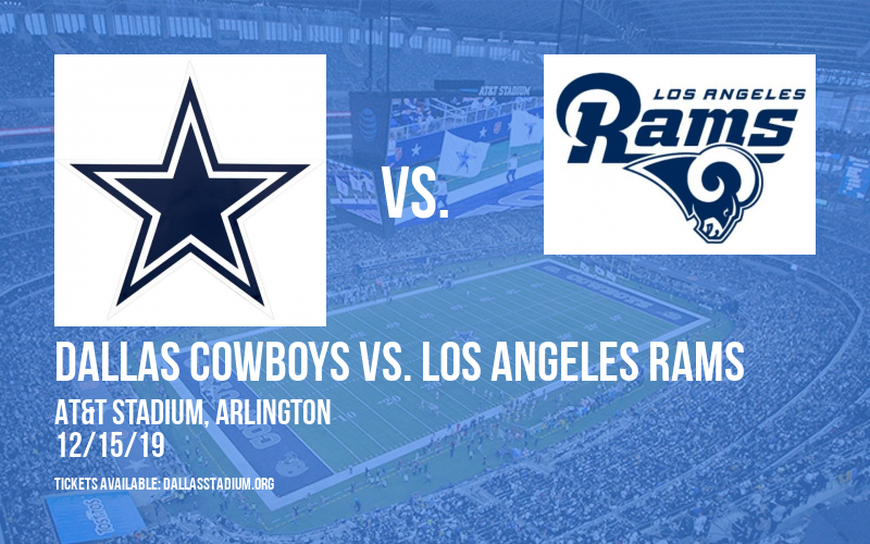 Dallas Cowboys vs. Los Angeles Rams at AT&T Stadium