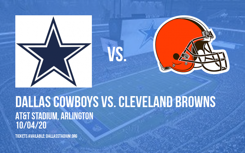 Dallas Cowboys vs. Cleveland Browns at AT&T Stadium