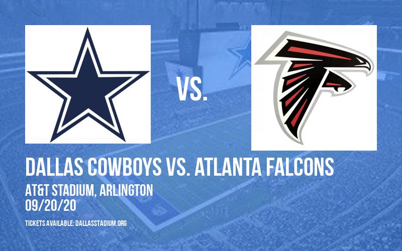 Dallas Cowboys vs. Atlanta Falcons at AT&T Stadium