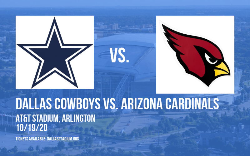 Dallas Cowboys vs. Arizona Cardinals at AT&T Stadium