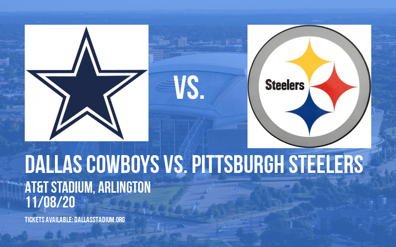 Dallas Cowboys vs. Pittsburgh Steelers at AT&T Stadium