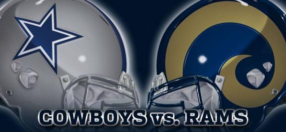 Dallas Cowboys vs. Los Angeles Rams at AT&T Stadium