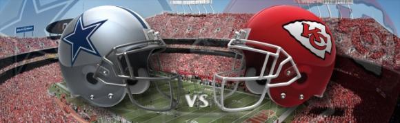 Dallas Cowboys vs. Kansas City Chiefs at AT&T Stadium
