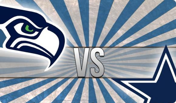 Dallas Cowboys vs. Seattle Seahawks at AT&T Stadium