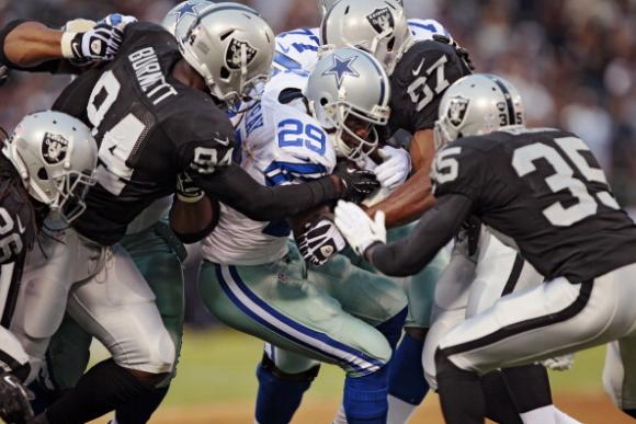 NFL Preseason: Dallas Cowboys vs. Oakland Raiders at AT&T Stadium
