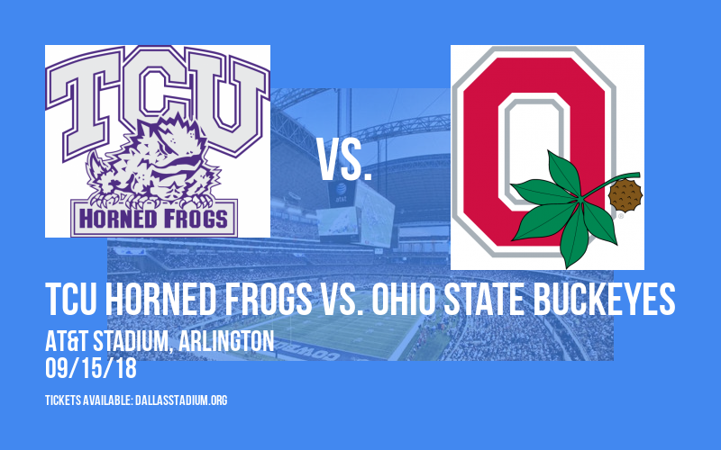 TCU Horned Frogs vs. Ohio State Buckeyes at AT&T Stadium