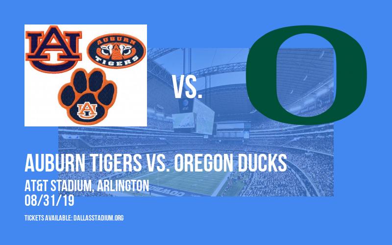 Advocare Classic: Auburn Tigers vs. Oregon Ducks at AT&T Stadium