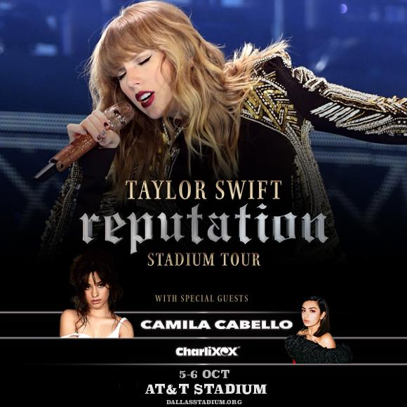 Taylor Swift at AT&T Stadium
