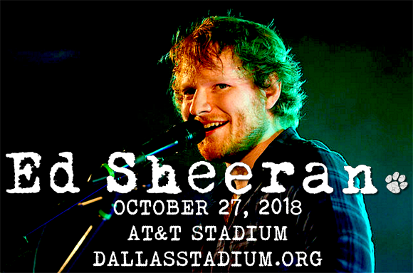 Ed Sheeran at AT&T Stadium