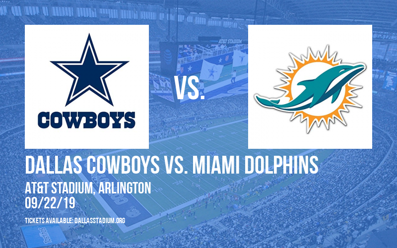 Dallas Cowboys vs. Miami Dolphins at AT&T Stadium