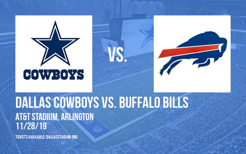 Dallas Cowboys vs. Buffalo Bills at AT&T Stadium