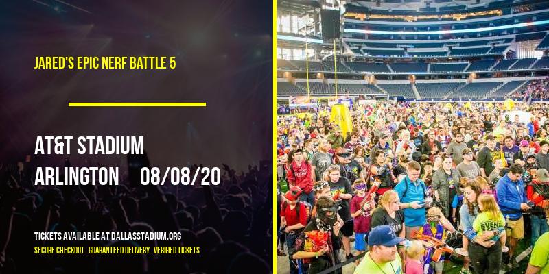 Jared's Epic Nerf Battle 5 at AT&T Stadium
