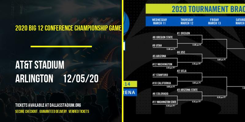 2020 Big 12 Conference Championship Game at AT&T Stadium