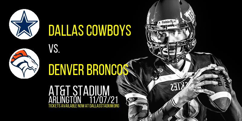 Dallas Cowboys vs. Denver Broncos at AT&T Stadium