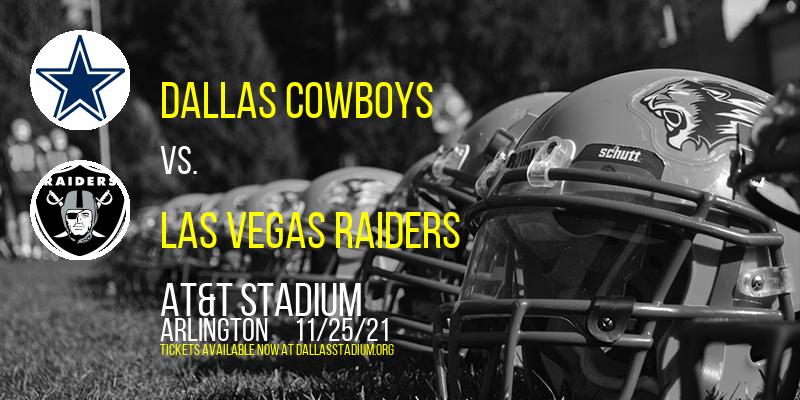 Dallas Cowboys vs. Las Vegas Raiders at AT&T Stadium