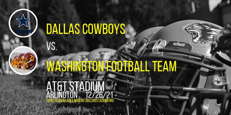 Dallas Cowboys vs. Washington Football Team at AT&T Stadium